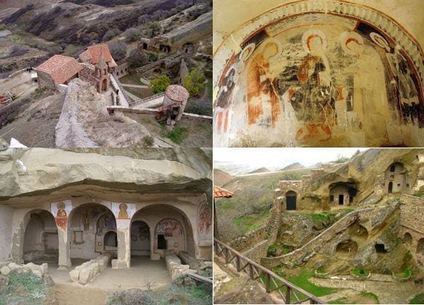 Святыни: монастырь Давид-Гареджи и Марткопский монастырь
