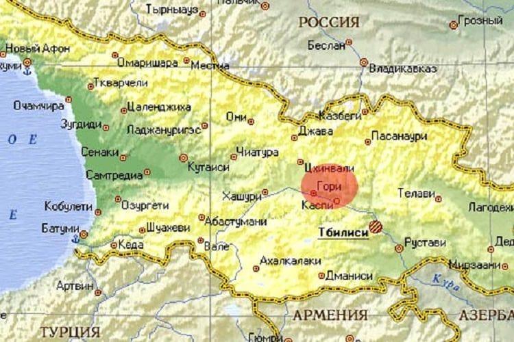 Город Гори - сердце восточной Грузии