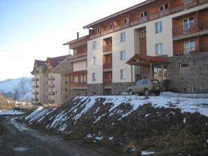 Гудаури - горнолыжный курорт в Грузии