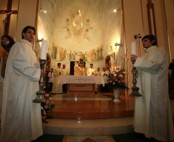 Католический собор святых Петра и Павла в Тбилиси