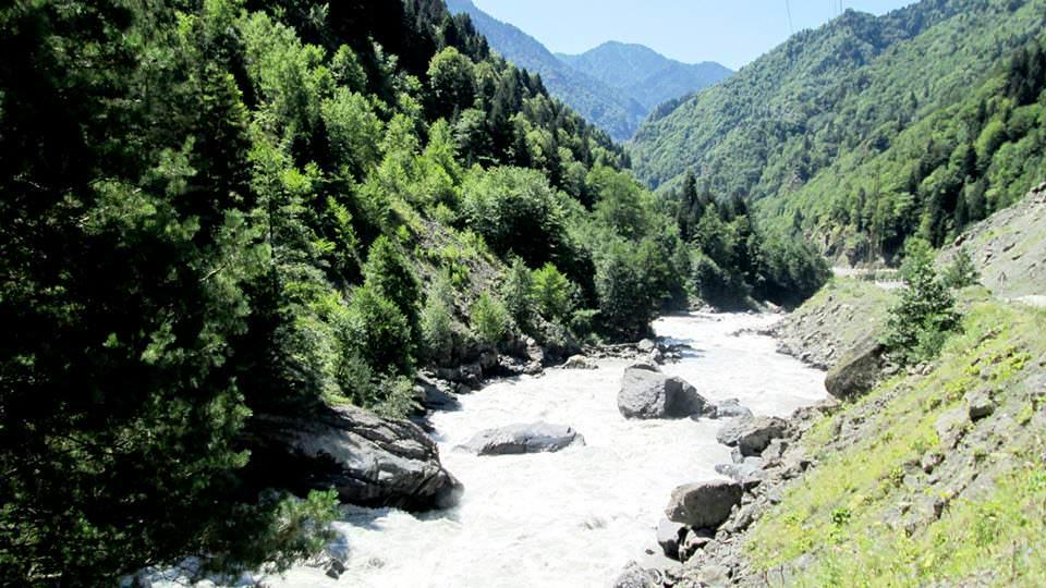 Путешествие на красивейшую реку Ингури