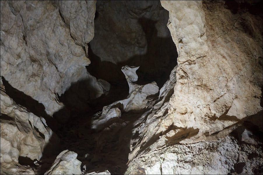 Новоафонская пещера в Абхазии*