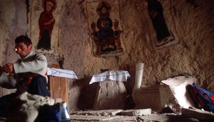 Бетлемская пещера - самый древний и недоступный пещерный храм Грузии