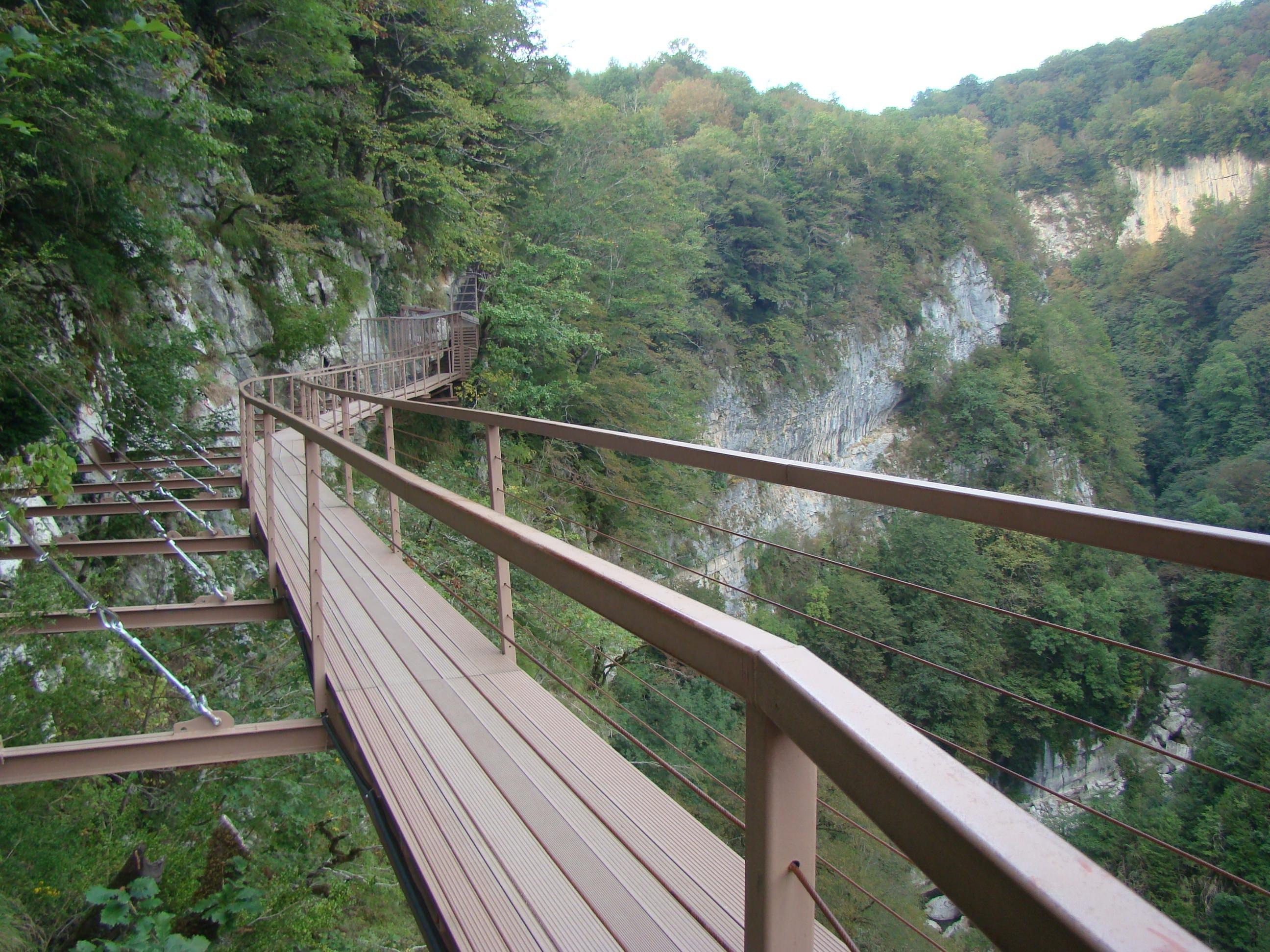 Экстремальное путешествие по каньону Окаце