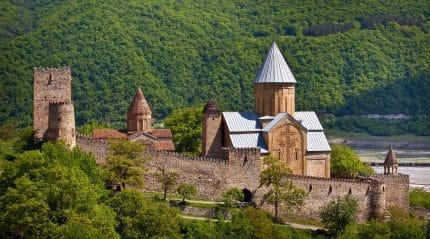 Georgian Fortress Ananuri