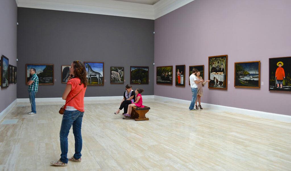 Национальная галерея Грузии («Голубая галерея») им. Шеварднадзе