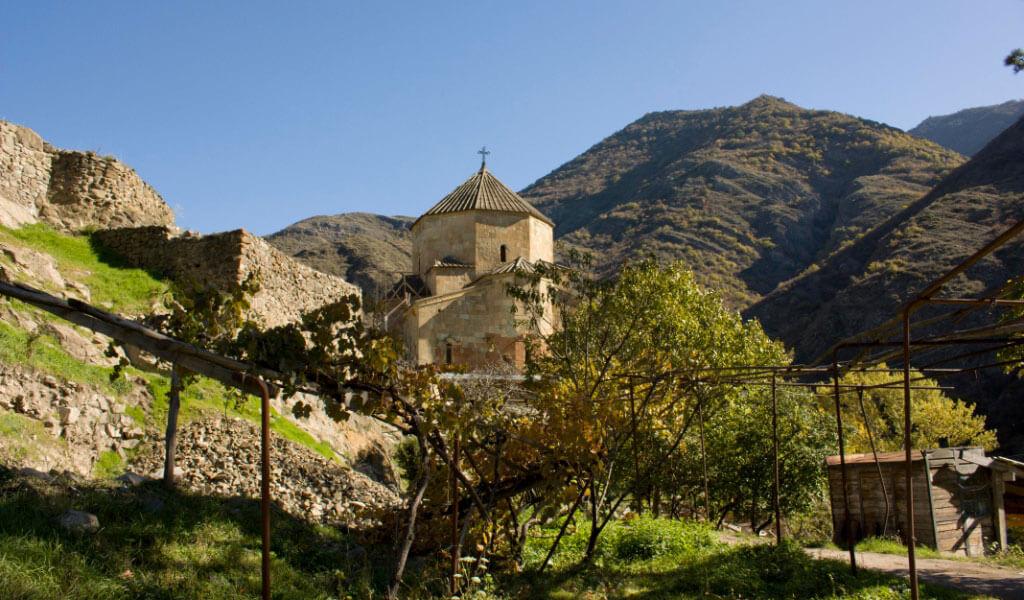 Монастырь Атенский Сиони - памятник архитектуры в Грузии