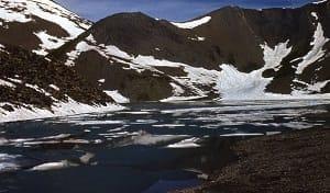 Арчвебистба - высокогорное «треугольное озеро» в Грузии