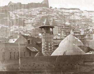 История древней Шиитской мечети в Тбилиси