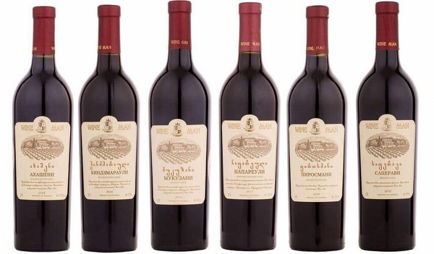 вина марки Wine Man