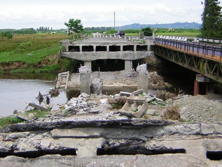 Чолоки – река, повидавшая множество исторических событий Грузии