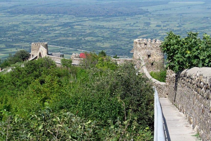 История города-крепости Сигнахи