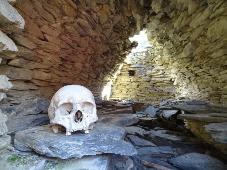Посещение таинственной крепости Муцо