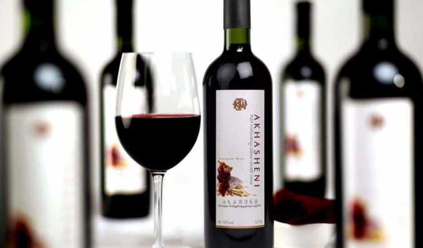 вино ахашени