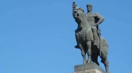 Памятник Вахтангу Горгасали