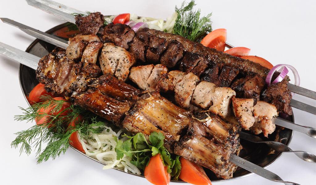 Шашлык по-кахетински - правильный рецепт мцвади