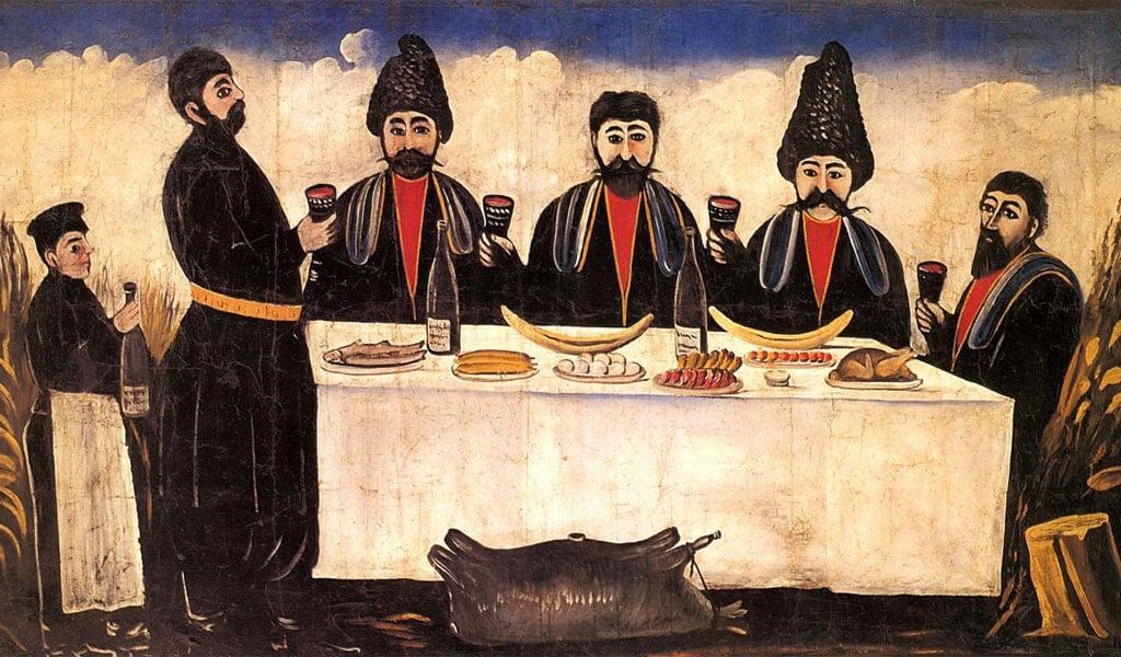 О тостах и застольях — этикет грузинского застолья и культура пития вина