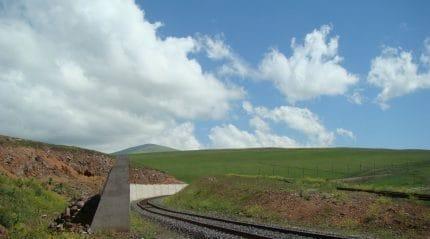 ЖелезнаядорогаБаку Тбилиси Карс