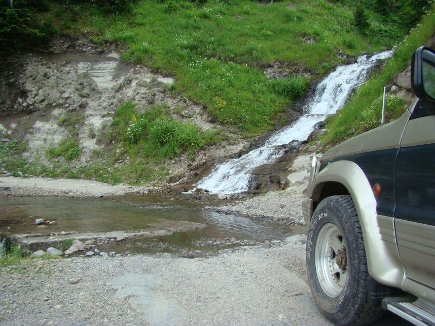 Сложность дороги перевала Годердзи