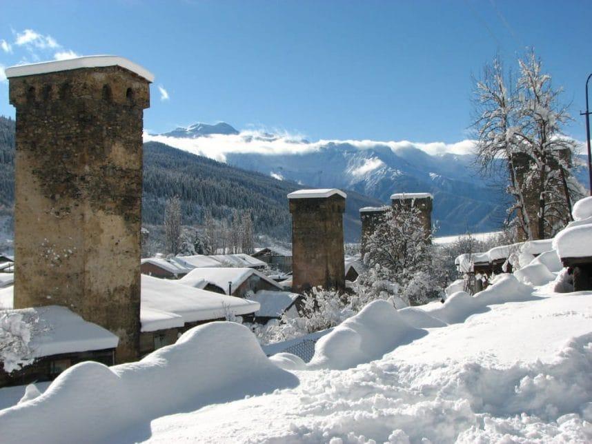 Местия – горнолыжный курорт Грузии