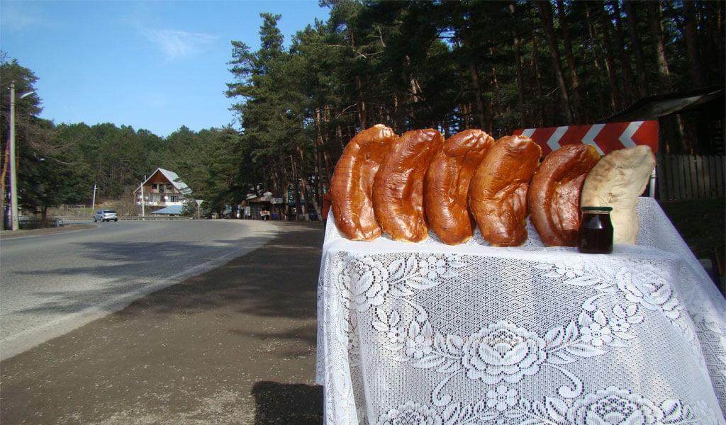 Назуки - сладкий грузинский хлеб
