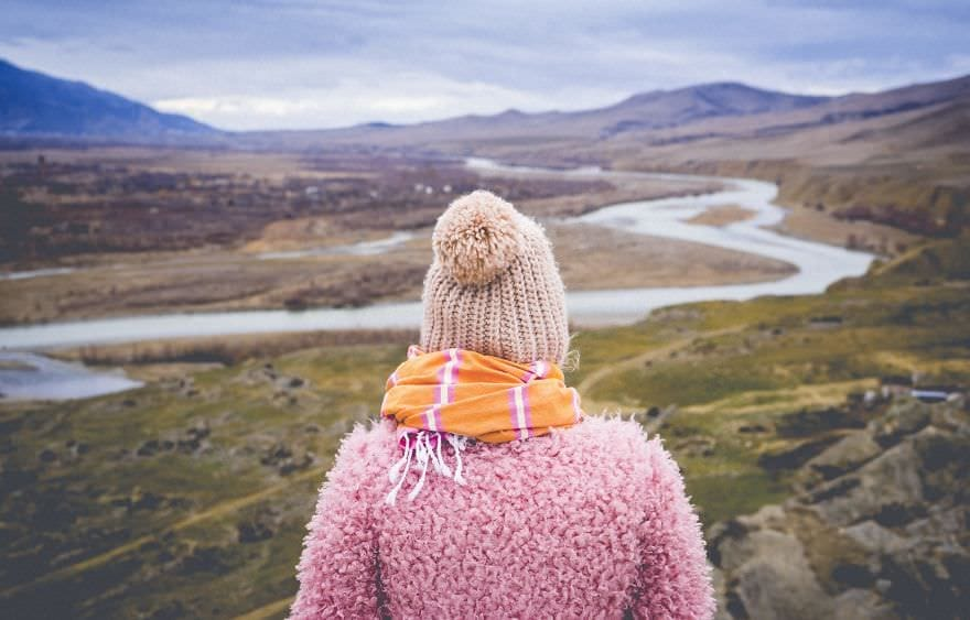 Серия фотографий девушки на фоне удивительных мест Грузии от фотографа Billy Billikhodze