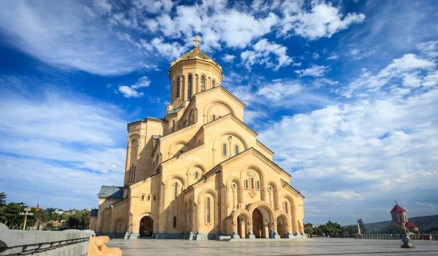 Картинки по запросу кафедральный собор самеба