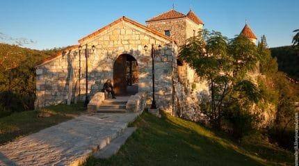 Монастырь Моцамета - древний храм Грузии с великой историей