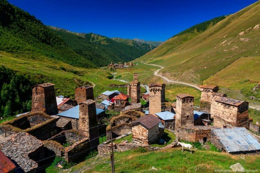 Сванетия. Знаменитые горы Грузии