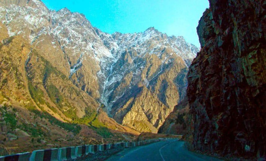 Военно-Грузинская дорога и Казбеги
