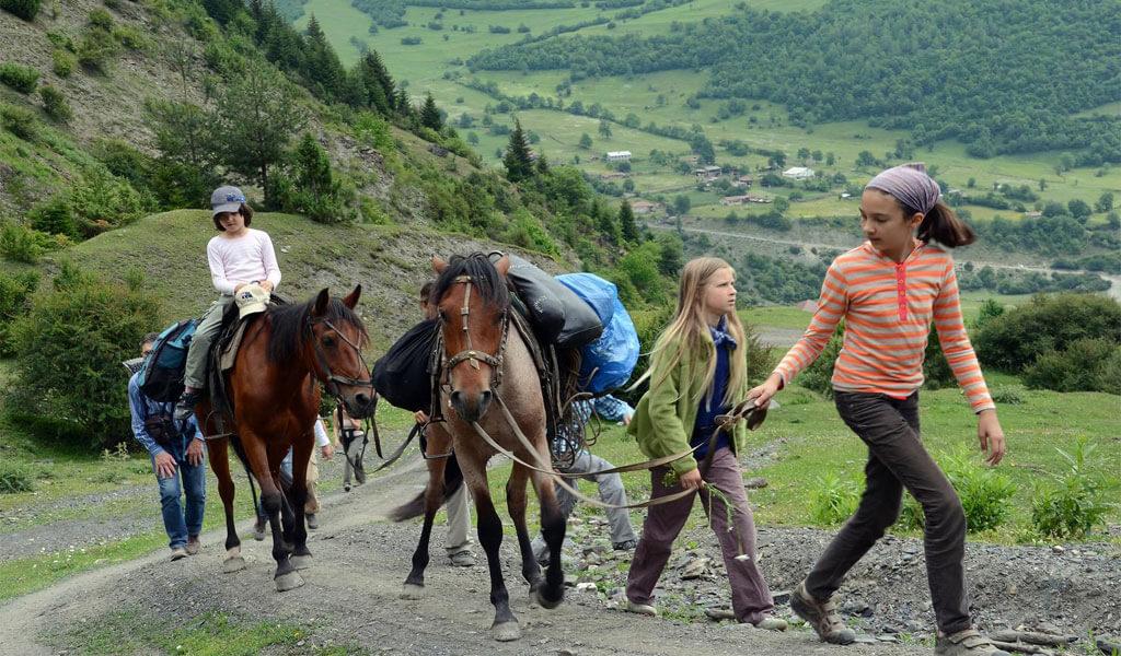 Детский отдых - организация туров в Грузию