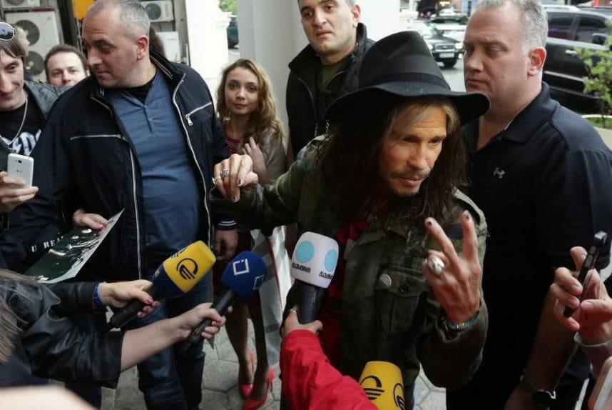 Aerosmith в Грузии