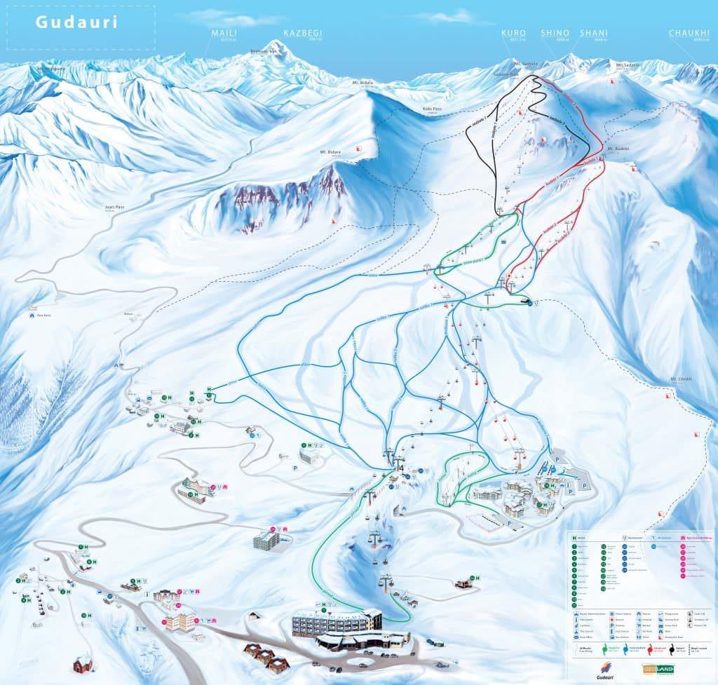 Лыжный сезон в Грузии продлится до июля