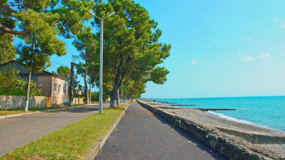 Очамчира в Абхазии* - пляжный отдых на море
