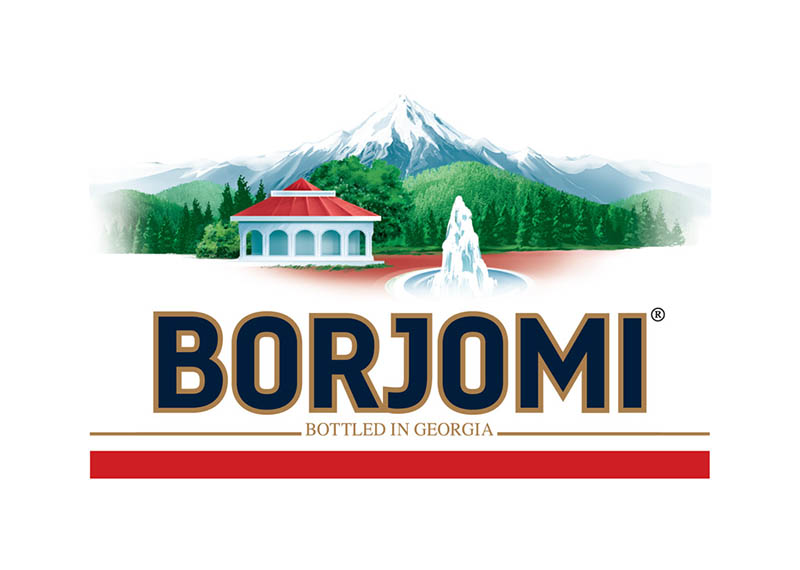 Вода Borjomi природная