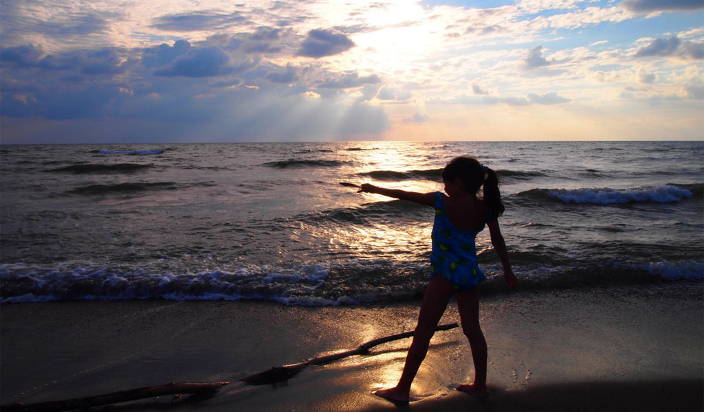 Поселок Шекветили – морской отдых на целебных магнитных песках