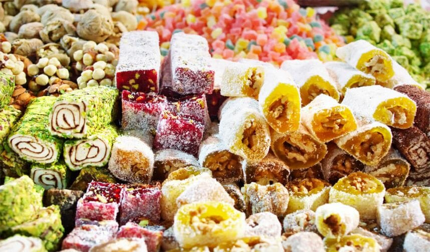 грузинские сладости