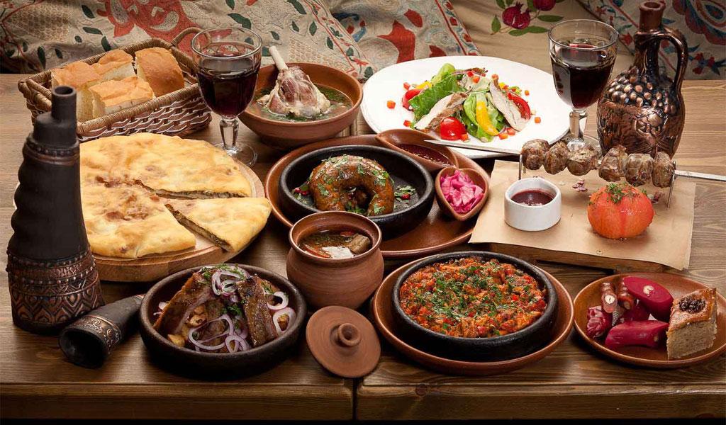 Сладости грузинской кухни