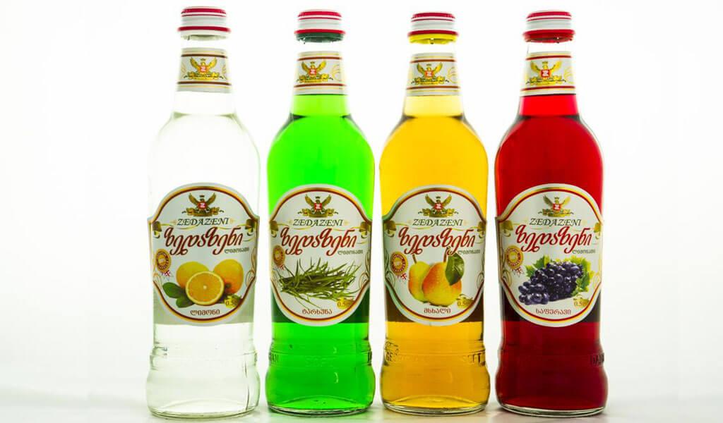 Лучший грузинский лимонад – Натахтари, Зедазени, Лагидзе, Казбеги