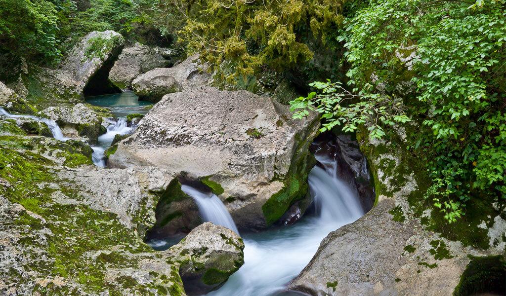 Молочный водопад – природная жемчужина Абхазии