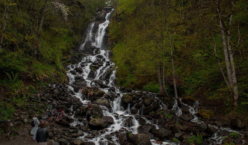Молочный водопад – природная жемчужина Абхазии*