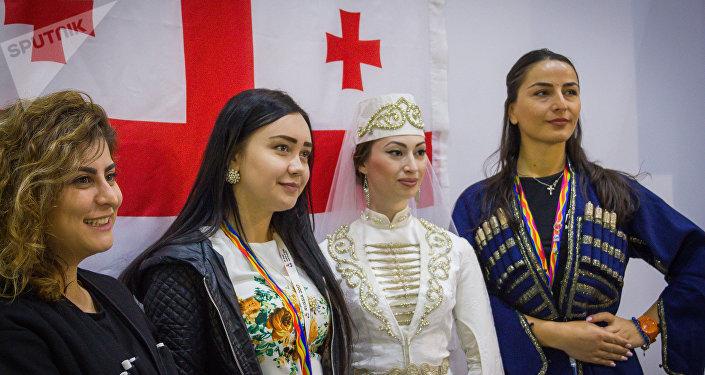Что знает молодежь мира о Грузии - опрос на ВФМС