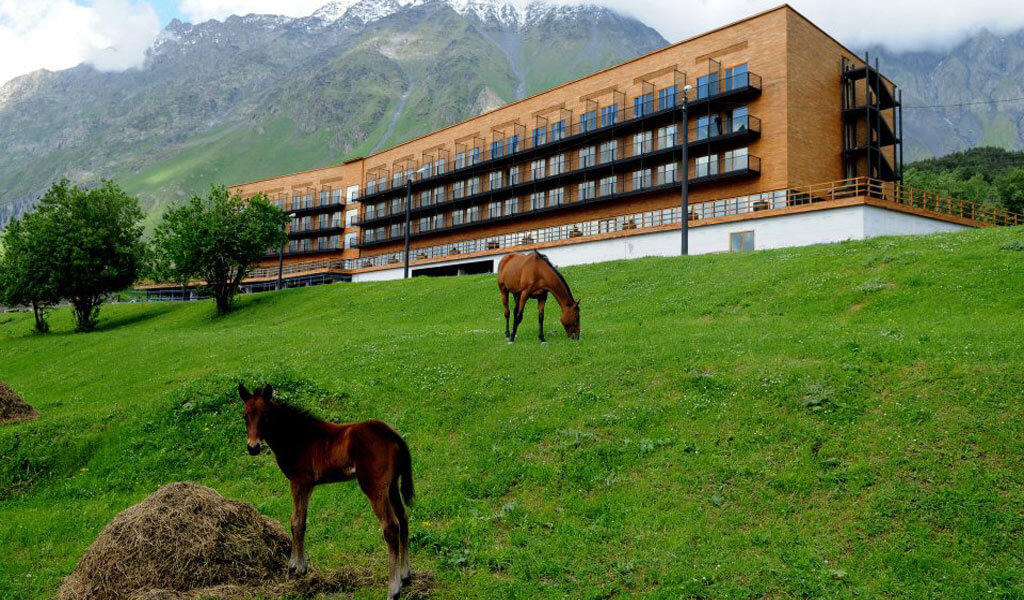 Rooms Hotel Kazbegi - гостиница у подножья горы Казбек
