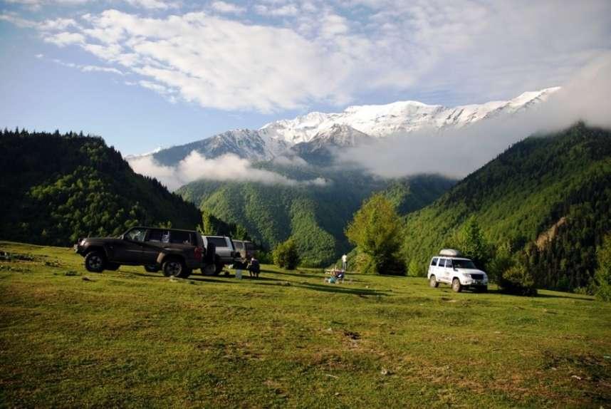 Туры в горы Грузии