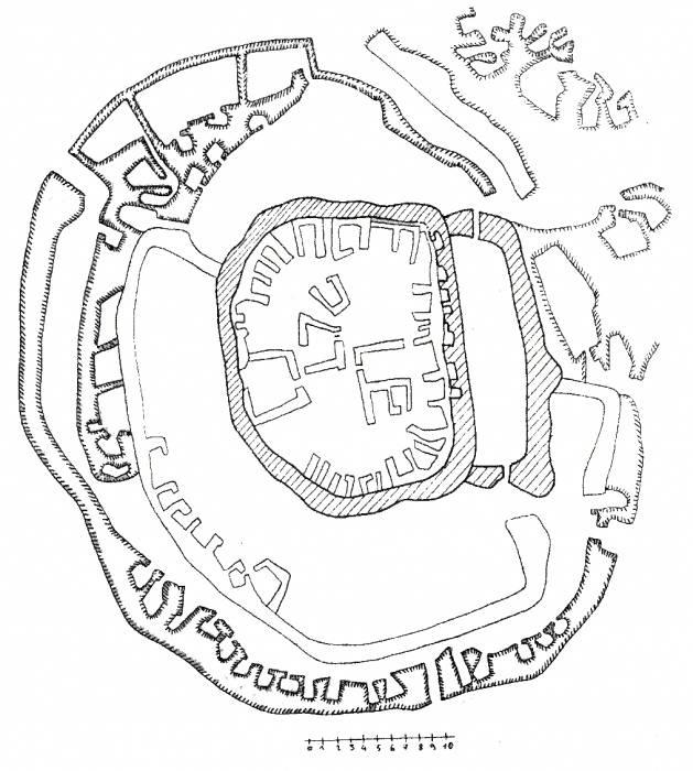 Мегалитическая крепость Абули