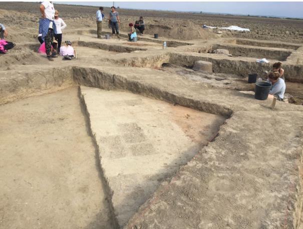 Руины дворца V века до нашей эры обнаружены в Алазанской долине