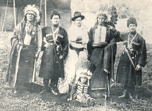 Наездники из Гурии в шоу Баффало Билла
