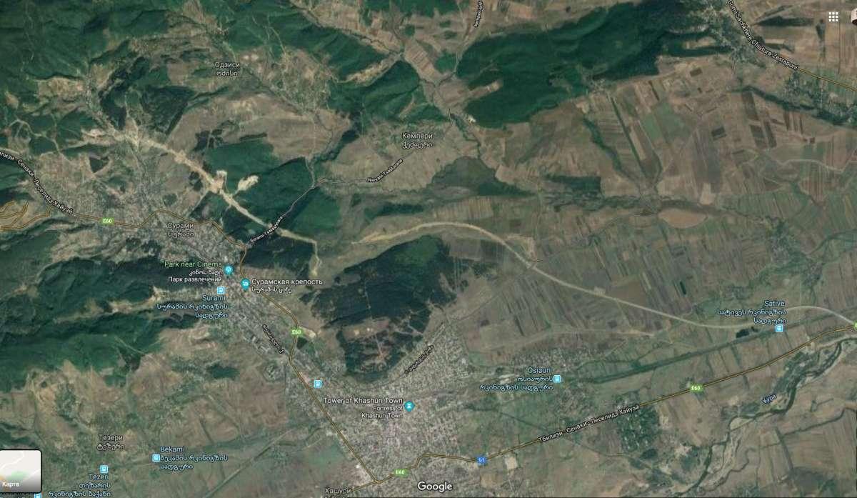 Строительство Хашурской объездной дороги. Фото