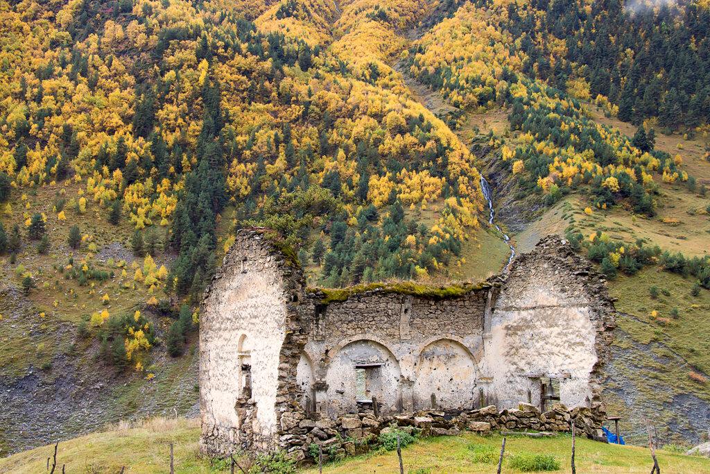 Дартло – живописный уголок Тушетии